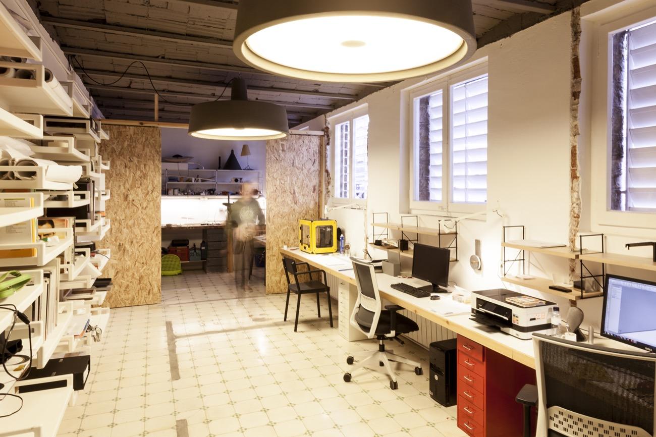 Stefano colli reforma del estudio de dise o industrial for Oficinas de diseno industrial